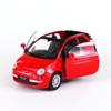 WELLY FIAT 500C 2010 czerwony  skala 1:34-39
