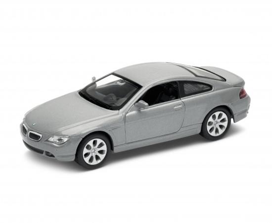 Welly 1:34 BMW 645Ci -srebrny