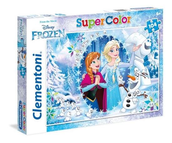 Clementoni puzzle 104 Kraina lodu (27985 CLEMENTONI)
