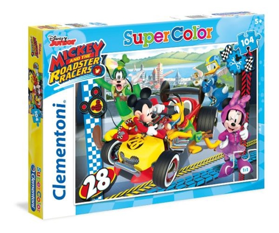 Clementoni puzzle 104 Mickey and roadster racers (27984 CLEMENTONI)