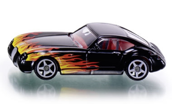 SIKU Samochód z płomieniami - Wiesmann GT Flames (1336)