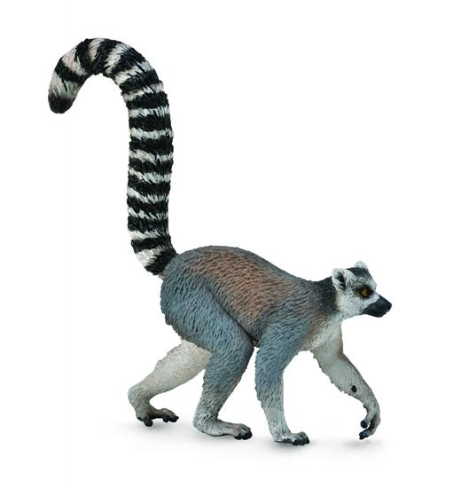 CollectA 88831 Lemur ze sterczącym ogonem  rozm:M (004-88831)