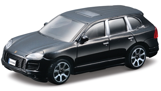 Bburago 30217 Porsche Cayenne 1:43 - czarny metalik