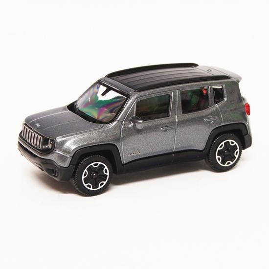 Bburago 30385 Jeep Renegade 1:43 - grafitowy