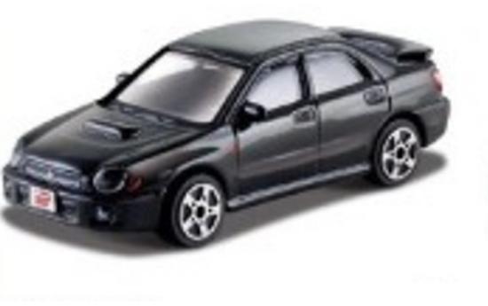 Bburago 30109 Subaru Impreza WRX 1:43 - czarny