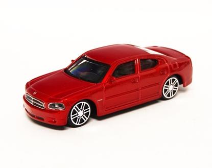 Bburago 30114 Dodge Charger R/T 1:43 - czerwony metalik