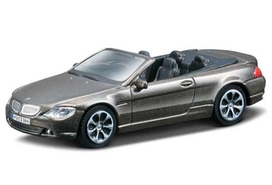 Bburago 30118 BMW 645 Ci 1:43 - grafitowy