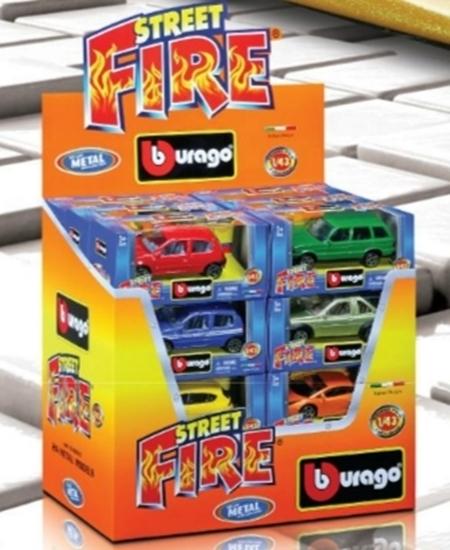 MODEL BBURAGO STREET FIRE 1:43 (18-30000)