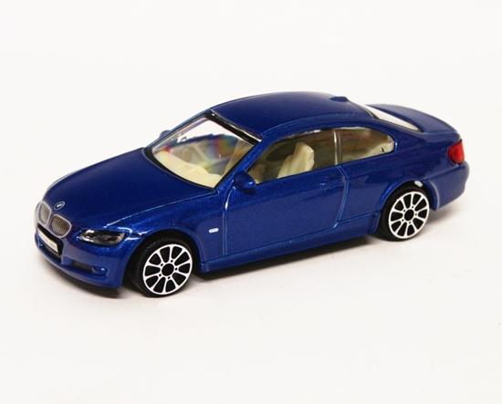 Bburago 30137 BMW 335i 1:43 - niebieski
