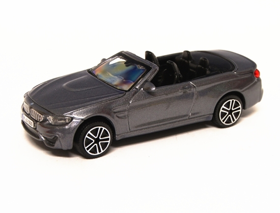 Bburago 30298 BMW M4 cabrio 1:43 - grafitowy