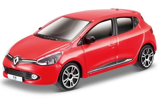 Bburago 30248 Renault Clio 1:43 - czerwony