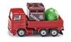 SIKU Ciężarówka z pojemnikami na odpady (0828)