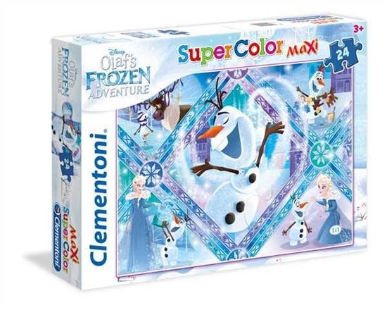 Clementoni Puzzle Maxi 24el Olaf's 24072 Frozen Adventure (24072 CLEMENTONI)