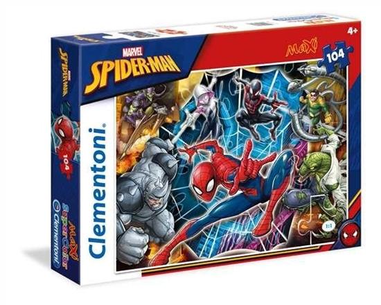104 elementy Maxi Spiderman (23716 CLEMENTONI)