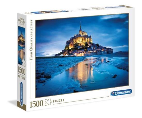 Clementoni Puzzle 1500el Le Mont Saint-Michel 31994 p6, cena za 1szt. (31994 CLEMENTONI)
