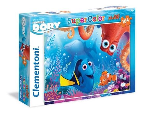 Clementoni Puzzle Maxi 104 el. Finding Dory 23976 (23976 CLEMENTONI)