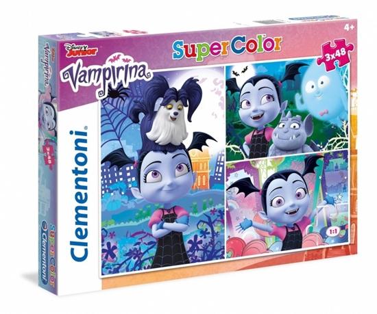 3x48 elementów Vampirina (25229 CLEMENTONI)
