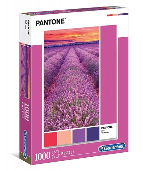 Puzzle 1000 elementów Pantone - Vivid Viola (GXP-684347)
