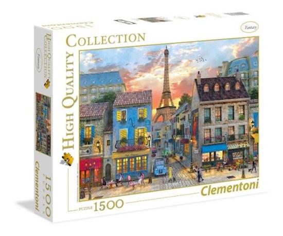 Clementoni Puzzle 1500el Ulice Paryża 31679 p6, cena za 1szt. (31679 CLEMENTONI)