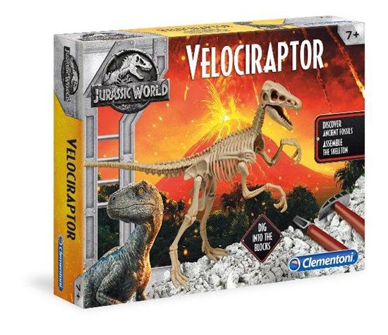 Clementoni JW Velociraptor DIG + scenaria 19063 p6, cena za 1szt. (19063 CLEMENTONI)