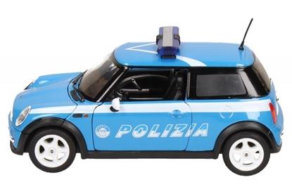 Samochód Mini Cooper Polizia (WE22075IP)