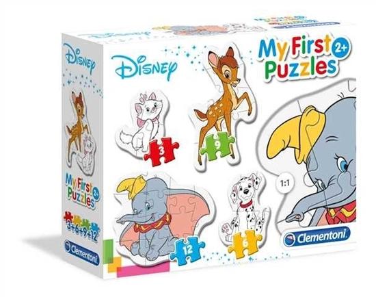 Moje Pierwsze Puzzle Zwierzęcy Przyjaciele (20806 CLEMENTONI)