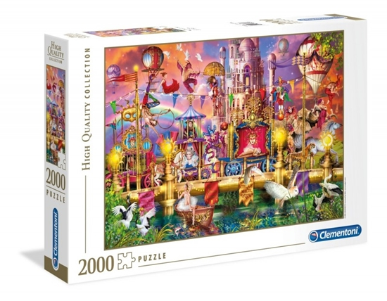 Puzzle 2000 elementów High Quality Collection - Cyrk (32562 CLEMENTONI)