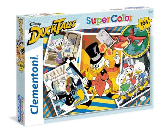 Clementoni Puzzle 104el Duck Tales 27083 (27083 CLEMENTONI)