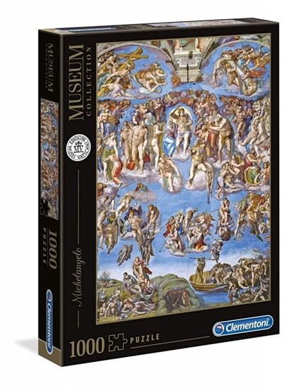 Puzzle 1000 elementów Museum - Sąd ostateczny (39497 CLEMENTONI)