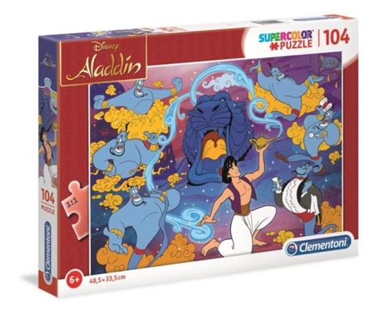 Clementoni Puzzle 104el SUPER KOLOR Alladyn  27283 p6 (27283 CLEMENTONI)