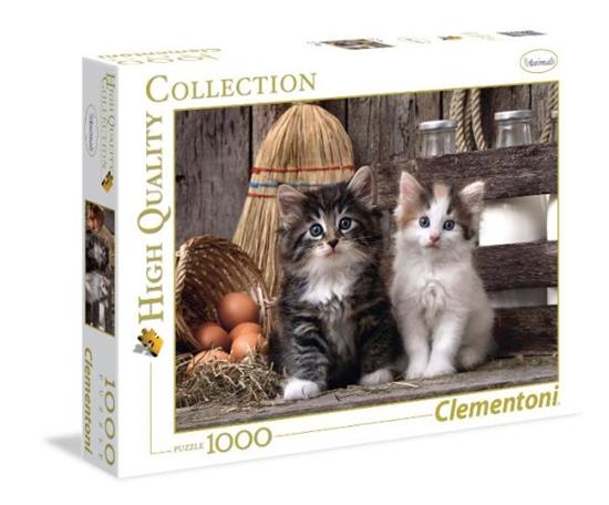 Clementoni Puzzle 1000el HQ Kotki 39340 p6, cena za 1szt. (39340 CLEMENTONI)