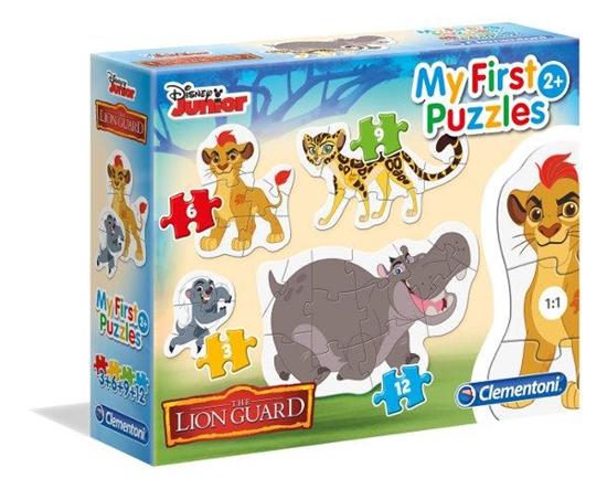 Clementoni Puzzle 3-6-9-12 Moje Pierwsze Puzzle Lion King 20801 p6, cena za 1szt. (20801 CLEMENTONI)