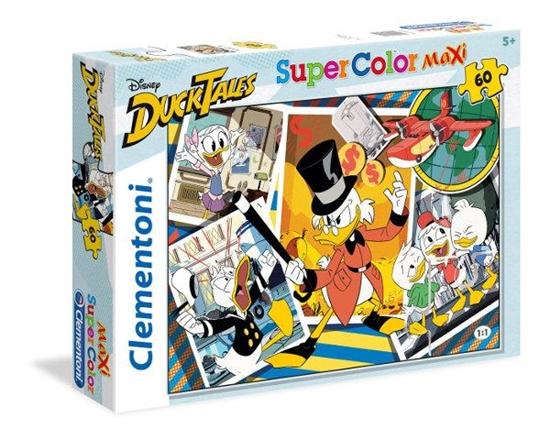 Clementoni Puzzle 60 Maxi Duck Tales 26432 (26432 CLEMENTONI)