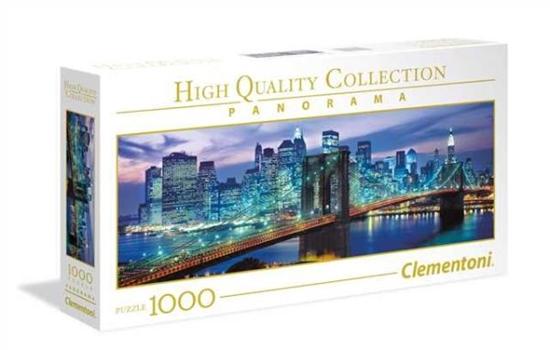 Clementoni Puzzle 1000el Panorama New York Brooklyn 39434 p6, cena za 1szt. (39434 CLEMENTONI)