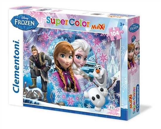 Clementoni Puzzle 104el Maxi Frozen 23662 p6, cena za 1szt. (23662 CLEMENTONI)