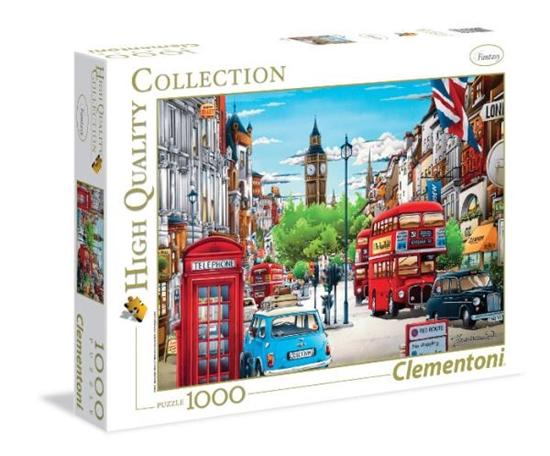 Clementoni Puzzle 1000el HQ Londyn 39339 p6, cena za 1szt. (39339 CLEMENTONI)