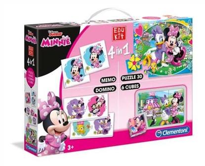 Clementoni Edukit 4w1 Minnie Happy Helpers 13761 p6, cena za 1szt. (13761 CLEMENTONI)