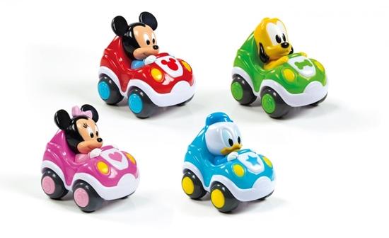 Clementoni Disney Baby Samochodziki p18 17166, cena za 1szt. (17166 CLEMENTONI)
