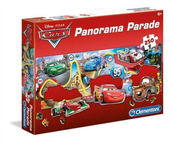 PROMO Clementoni Puzzle 250el Panorama Parade Cars 98538 (98538 CLEMENTONI)