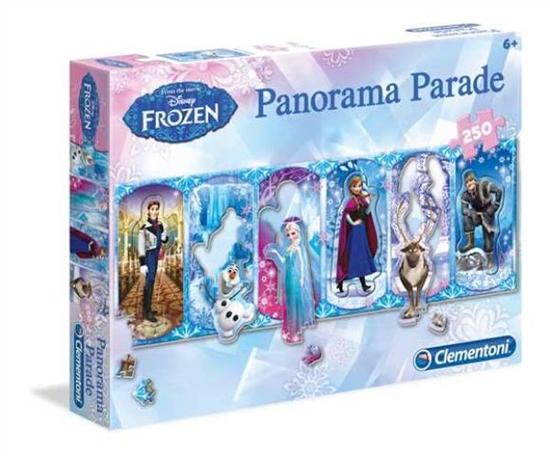 PROMO Clementoni Puzzle 250el Panorama Parade Frozen 98539 (98539 CLEMENTONI)