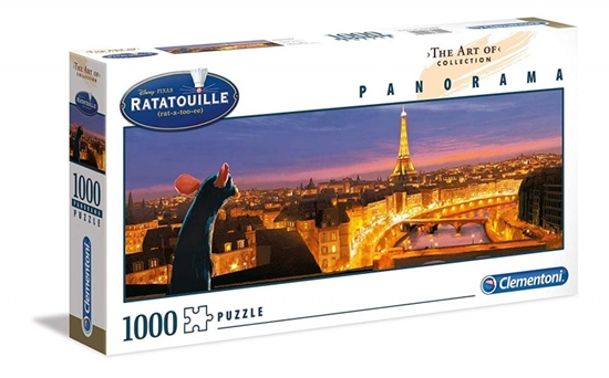 Puzzle 1000 elementów - The Art of Disney, Ratatouille (GXP-684341)