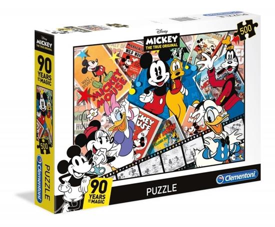 Puzzle 500 elementów Mickey 90th (35061 CLEMENTONI)