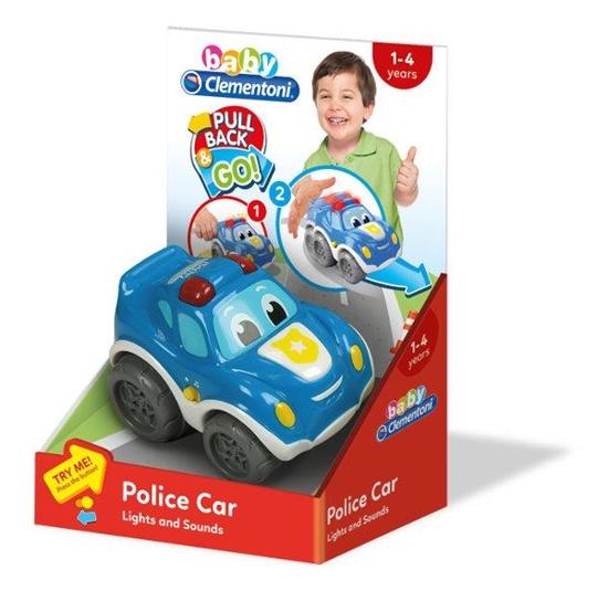 Clementoni Samochód policyjny 17179, p6 cena za 1szt. (17179 CLEMENTONI)