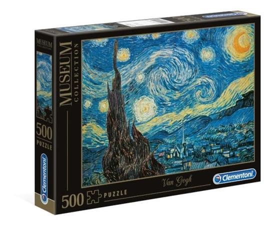 Clementoni Puzzle 500el Museum Starry Night 30314 p6, cena za 1szt. (30314 CLEMENTONI)