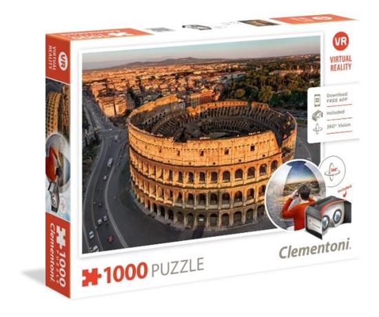 Clementoni Puzzle 1000el Virtual Reality: Rome 39403 (39403 CLEMENTONI)