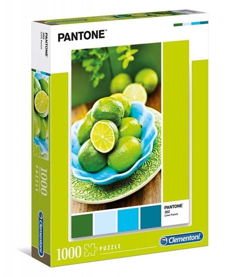 Puzzle 1000 elementów Pantone - Poncz limonkowy (39492 CLEMENTONI)