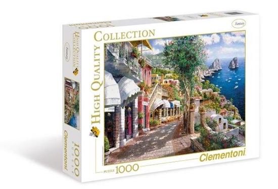 Clementoni Puzzle 1000el Capri 39257 p6, cena za 1szt. (39257 CLEMENTONI)