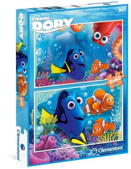 Clementoni Puzzle 2x60el Finding Dory 07127 (07127 CLEMENTONI)
