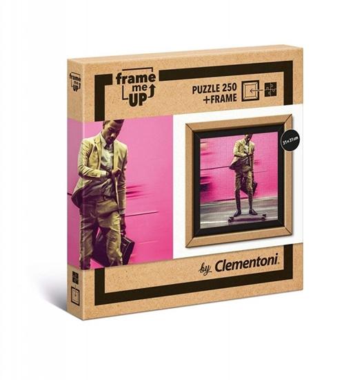 Puzzle 250 elementów Frame Me Up - Żyć szybciej (38501 CLEMENTONI)