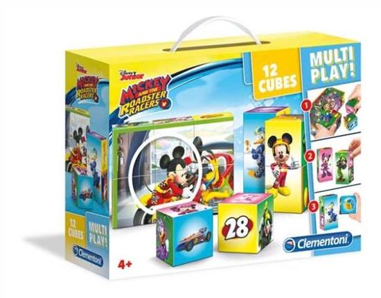 Clementoni klocki 12el Multi Play Mickey 41508 (41508 CLEMENTONI)